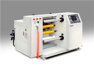 Label paper slitting machine