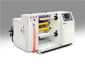 Label paper slitting machine