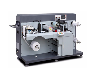 Semi rotary die cutting machine