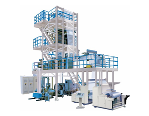 Ldpe 3 Layers Plastic Film Blowing Machine
