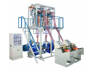 Two Heads Film Blowing Machine