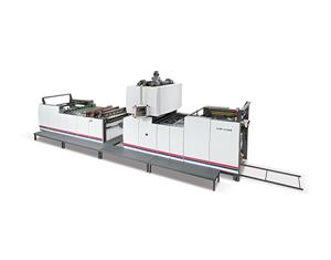 Vertical laminating machine