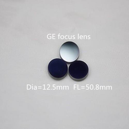 Black focus lens-germanium (Ge)
