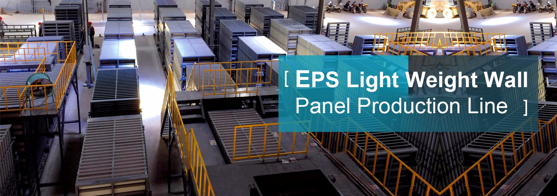 EPS Light Weight Wall Panel Production Line