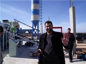 Application of brick machine in Libya