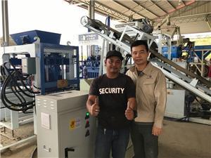 Application of brick making machine in Malaysia