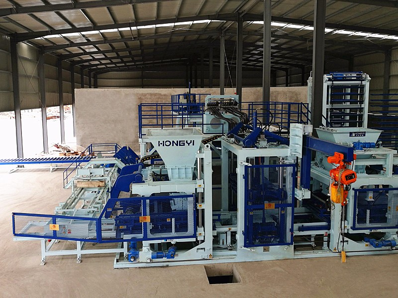 T Series Automatic Brick Making Machine in Fuzhou