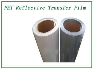 High-gloss reflective transfer film