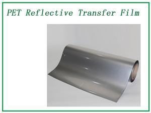 Bright Silver Reflection Transfer film