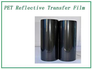 Black reflection transfer film