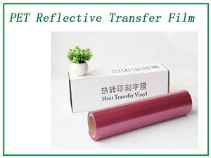 Elasticity RED Reflective Lettering Transfer Film