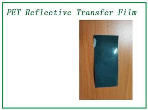 <Sea Blue Elasticity Rerflective Lettering Transfer Film