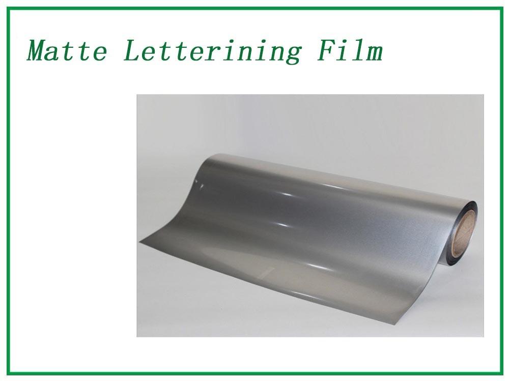 Silver Matte Lettering Film Manufacturers, Silver Matte Lettering Film Factory, Supply Silver Matte Lettering Film
