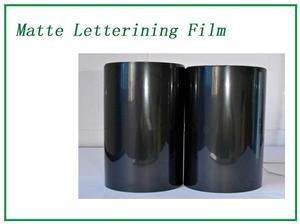 Elasticity Matte Lettering Film