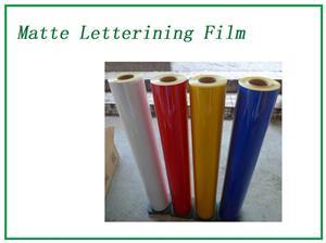 Navy Matte Lettering Film