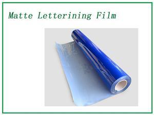 Cloisonne Matte Lettering Film