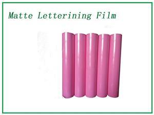Pink Matte Lettering Film