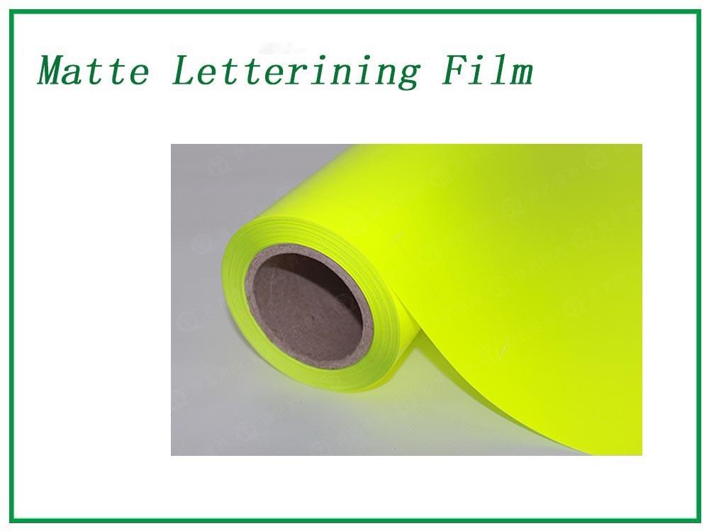 Fluorescent yellow Matte Lettering Film Manufacturers, Fluorescent yellow Matte Lettering Film Factory, Supply Fluorescent yellow Matte Lettering Film