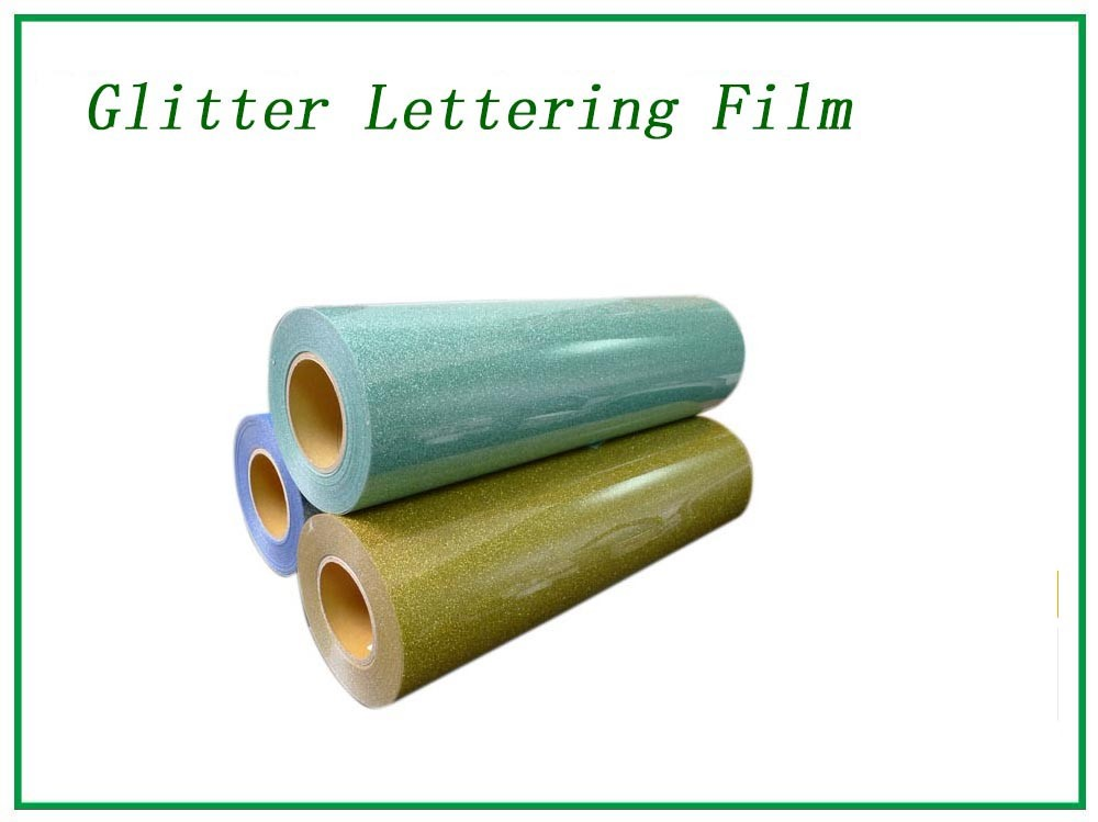 Glitter green lettering film Manufacturers, Glitter green lettering film Factory, Supply Glitter green lettering film
