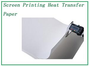 Heat Transfer PET Paper Silk Screen Printing QTS002