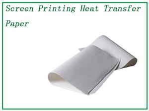 PET Heat Transfer Paper Silk Screen Printing Film QTS009