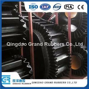 Normal Black Abrasion Resistant Sidewall Conveyor Belt