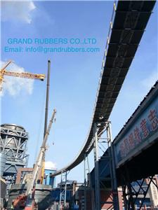 Pipe Conveyor Belt 1000Meters Project Has Been Checked and Accepted