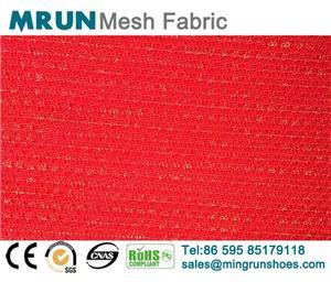 Glitter Jacquard Mesh Fabric