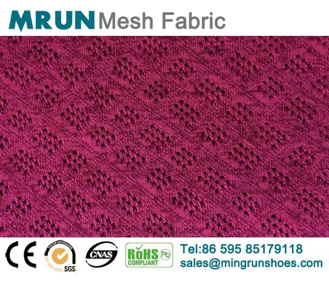 Geometrical Flyknit Mesh Fabirc