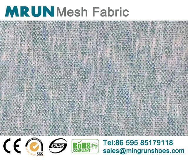 Multi Color Flyknit Mesh Fabric