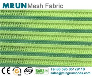 3D Striped Flyknit Fabric
