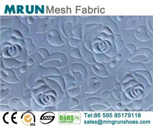 Raised Pattern Air Mesh Fabirc