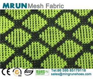 Rhombic Knit Mesh Fabric