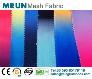 New Gradient Stretch Air Mesh Fabirc