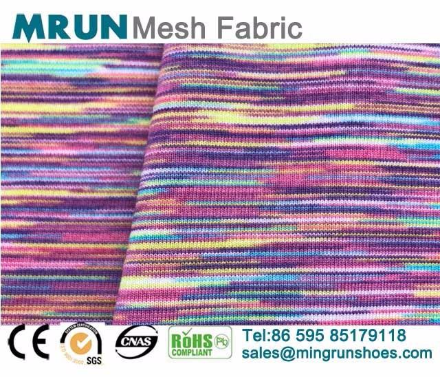 Mixed Color Nylon Lycra Fabric