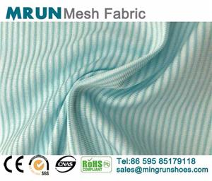Striped Nylon Stretch Fabric