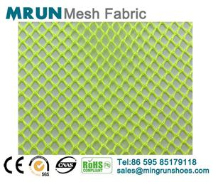 New color breathable single layer shoe mesh fabirc