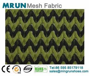 New Geometrical Jacquard mesh fabric factory price