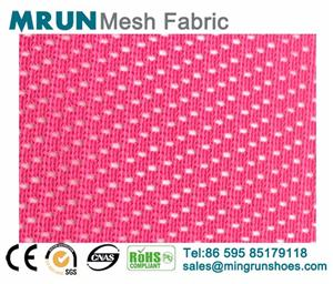 New pattern breathable single layer shoe mesh fabirc