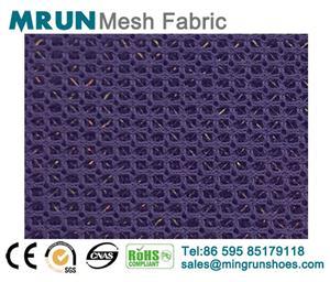 3D air mesh fabric glitter shoe fabric