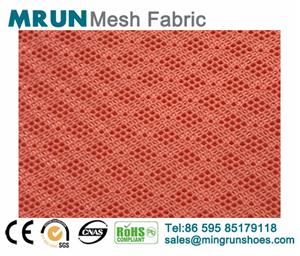 New 3d air mesh fabric diamond texture shoe fabric