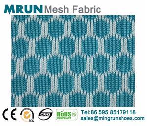 Jinjiang knit mesh fabric for shoes