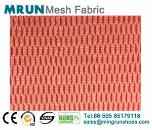 3D air polyester mesh fabric sports shoes air mesh fabric