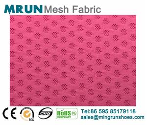 Air layer double elastic mesh fabric shoe mesh