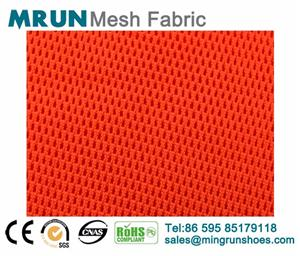 fine holes 100% polyester breathable 3d air mesh fabric