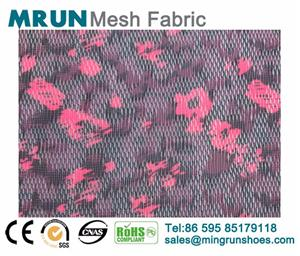 3D printing Jacquard mesh fabric for sports shoes