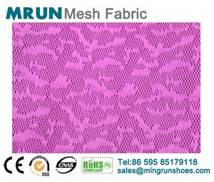 100% polyester Jacquard mesh for sports shoes