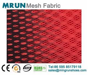 Color Gradual 3D printing shoe mesh fabric