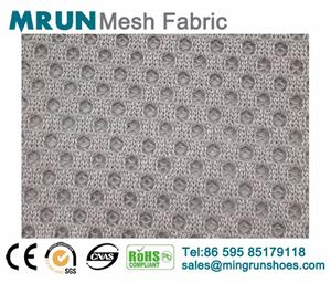 Supply polyester running shoes air mesh fabric