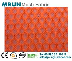 Supply Single layer sports shoes mesh fabric